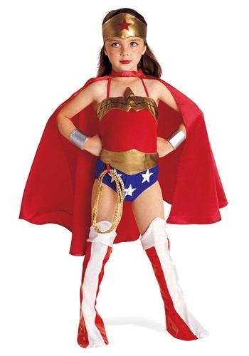 Disfraz de la Mujer Maravilla para niños