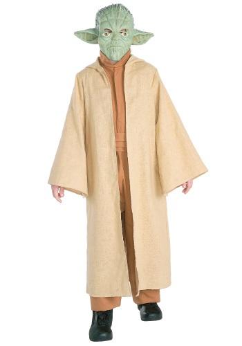 Disfraz Deluxe de Yoda Infantil