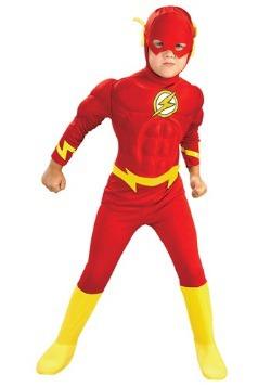 Disfraz de Flash deluxe  para niños