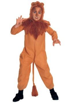 Disfraz infantil  de león cobarde
