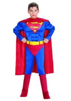Disfraz infantil deluxe de Superman