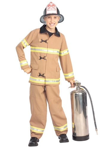 Disfraz infantil de bombero