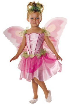 Disfraz de hada de primavera infantil
