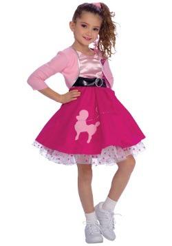 Vestido de chica de los años 50