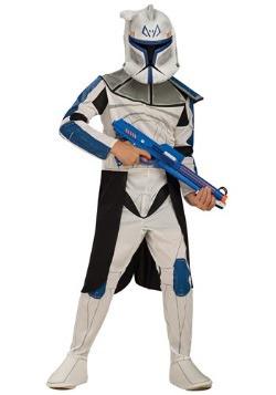 Disfraz de Rex Líder Clone Trooper azul para niños