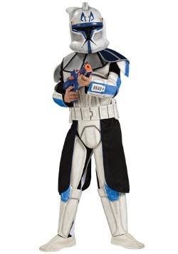 Disfraz infantil azul de Clone Trooper Rex deluxe