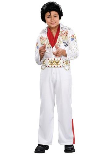 Disfraz de Elvis para niños pequeño deluxe