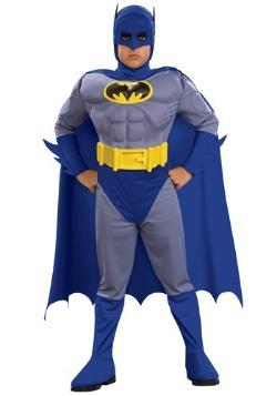 Pecho musculoso de Batman deluxe para niños