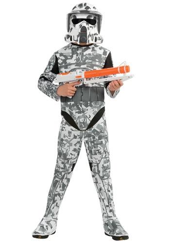 Disfraz de soldado ARF para niños