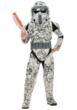 Disfraz de soldado ARF para niños deluxe