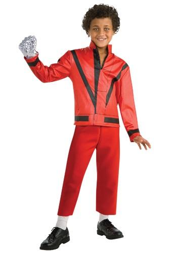 Chaqueta infantil roja de Thriller