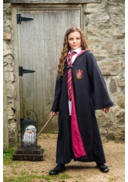 Traje de Gryffindor infantil Deluxe