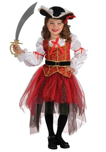 Disfraz princesa pirata de mar para niñas