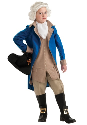 Disfraz infantil de George Washington