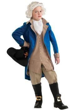 Disfraz infantil de George Washington