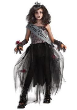 Disfraz de reina de graduación para niñas