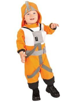 Disfraces de piloto de caza X-Wing para niños pequeños