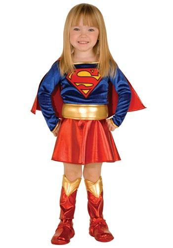 Disfraz de Supergirl para niños pequeños