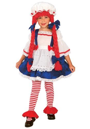 Disfraz de muñeca de trapo para niños pequeños