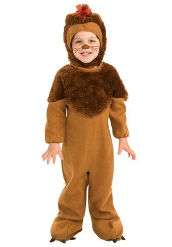 Disfraz de león cobarde para bebés