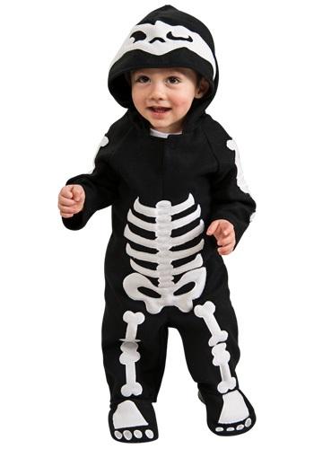 Disfraz de esqueleto para bebé/niño pequeño