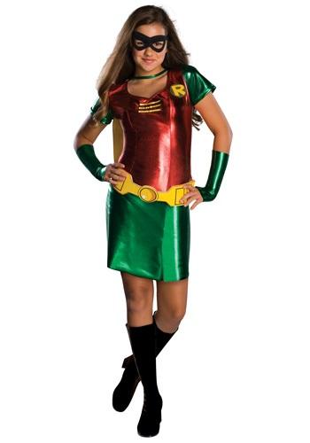 Disfraz de Robin para niñas tween