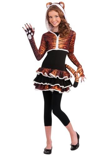 Disfraz de tigresa tween