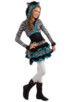 Disfraz de Tween Zebra