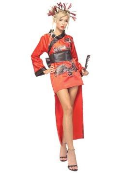 Disfraz de Geisha Lady Dragon adulto