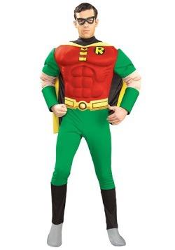 Disfraz de Robin musculoso para adulto