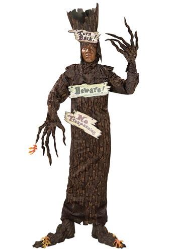 Disfraz de árbol aterrador para adulto