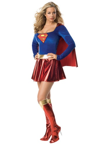 Disfraz para mujer Supergirl sexy