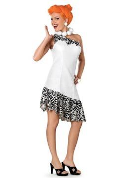 Disfraz de lujo de Vilma Picapiedra para adulto