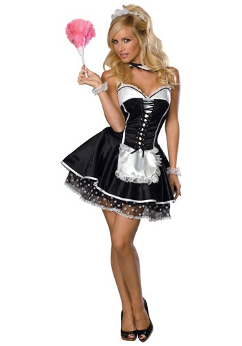 Disfraz de mujer de criada traviesa