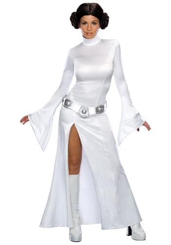 Vestido blanco de Princesa Leia para adulto
