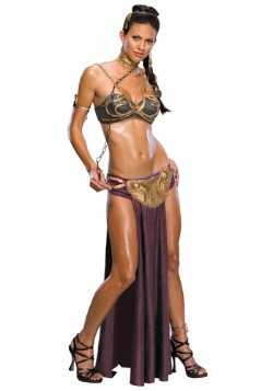 Disfraz de esclava de la Princesa Leia sexy