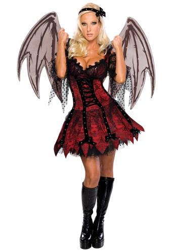 Disfraz gótico de hada