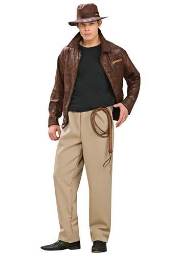 Disfraz de lujo de Indiana Jones para adulto