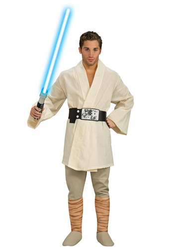 Disfraz de lujo de Luke Skywalker para adulto