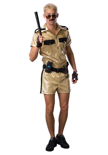 Disfraz de lujo de Lt. Dangle de Reno 911