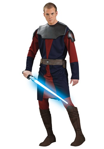 Adulto Deluxe Anakin Skywalker Clone Wars Costume