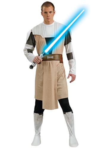 Disfraz de Obi Wan Kenobi de la Guerra de los Clones adulto