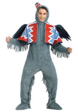 Disfraz de mono volador para adulto