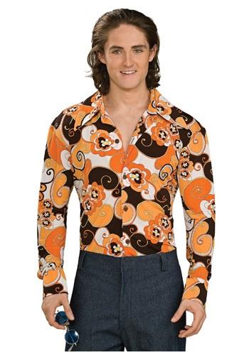 Camisa disco estampado Paisley