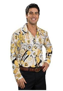 Camisa disco amarilla