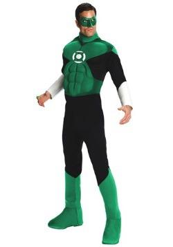 Disfraz de Linterna Verde deluxe para adulto