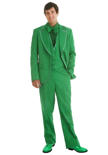 Esmoquin verde para hombre