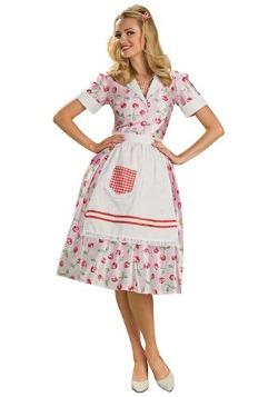 Disfraz de ama de casa de los años 50