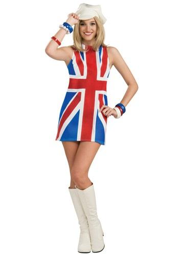 Disfraz de invasión británica sexy