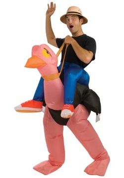 Disfraz de avestruz inflable para adulto
